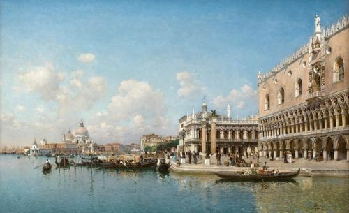 The Doges Palaceand Santa Maria Della Salute