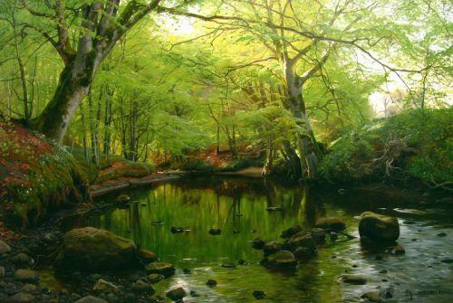 Весеннее время в лесу