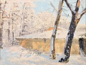Дубовський Микола Дерева в снігу