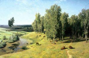 Українські класики Літній день