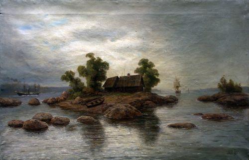 Хутор на острове