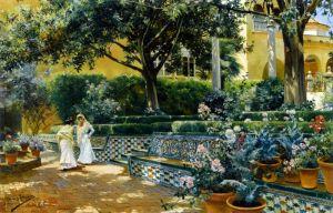 Сады Алькасара в Севилье