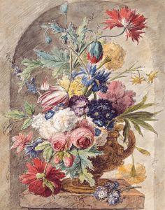 Хейсум Ян ван Цветочный натюрморт
