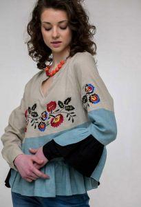 Жіночі вишиванки Вишиванка жіноча Кам`янка беж