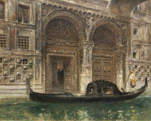 Санторо Рубенс Гондола у Палаццо Пьомби
