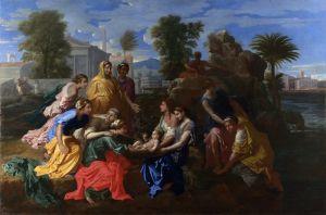 Пуссен Никола Нахождение Моисея