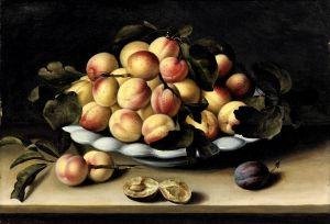 Муайон Луиза Натюрморт с блюдом абрикосов
