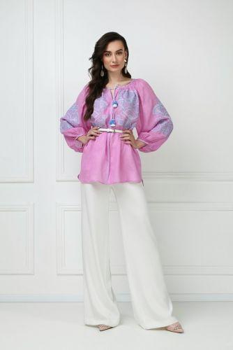 «Виктори» розовая блуза - изображение 1