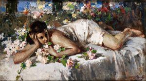 Иролли Винченцо Лежащая девушка