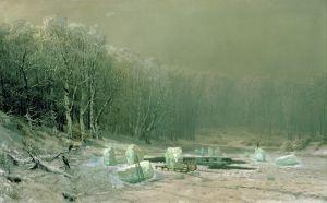 Мещерский Арсений Зима, увольнение льда