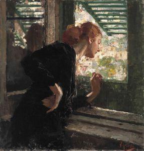 Иролли Винченцо Дама в окне