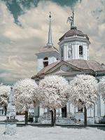 Церковь в усадьбе Кусково