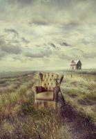 Кресло в поле