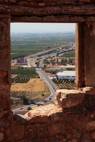 Вид из замка Сагунто, Испания