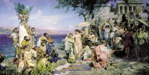 Семирадский Генрих На празднике Посейдона