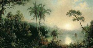 Хед Мартин Джонсон Восход солнца в Никарагуа
