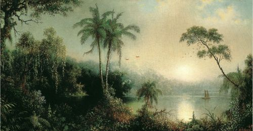 Восход солнца в Никарагуа