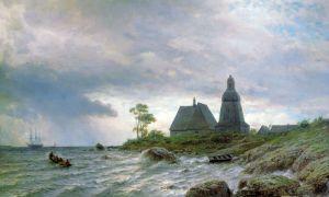 Лагорио Лев Cеверный пейзаж