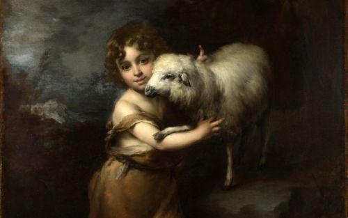 Младенец Святой Иоанн с Агнцем