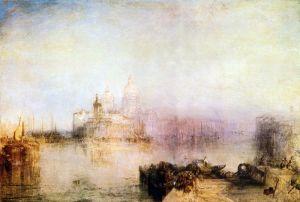 Тернер Вильям Догана и церковь Санта Мария делла Салюте в Венеции