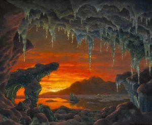 Шультце Иван Декоративная модель арктической пещеры