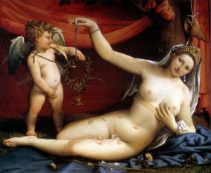 Лотто Лоренцо Венера и Амур