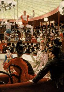Тиссо Джеймс Женщины Парижа - Любительница цирка