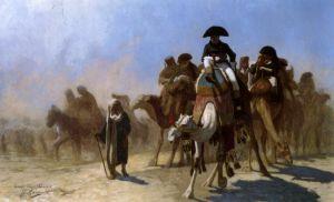 Жером Жан-Леон Napoleon And His General Staff In Egypt