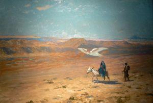 Жером Жан-Леон Побег в Египет