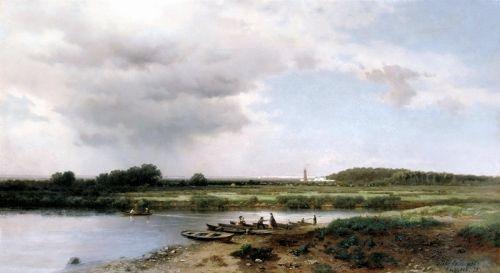 Вид на річку Казанку