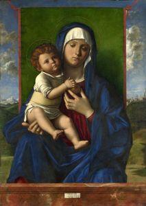Беллини Джованни Мадонна с младенцем