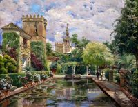 Сады Алькасара в Севилье 2