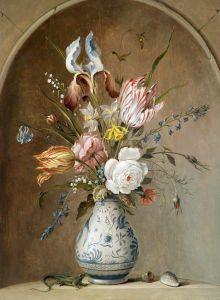 Аст Бальтазар ван дер Цветочный натюрморт