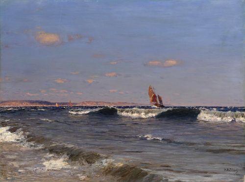 Набігаючі хвилі