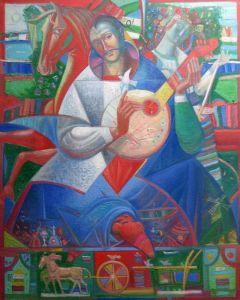 """Українське сучасне мистецтво Із серії """"Козак Мамай"""" - 96"""