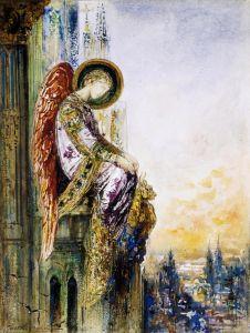 Моро Гюстав Странствующий ангел