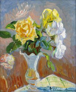 Экспрессионизм Натюрморт с розами