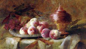 Мортельманс Франс Натюрморт с персиками и чайным прибором