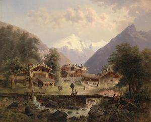 Барбарини Эмиль Альпийская деревня