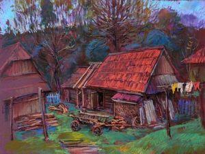 """Гунц Дмитрий Из серии """"Дорогой в горы"""" - 11"""