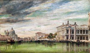 Романтизм Венеция, вид на Большой канал