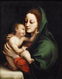 Возрождение Мадонна с младенцем