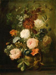 Хейсум Ян ван Ваза с цветами 2