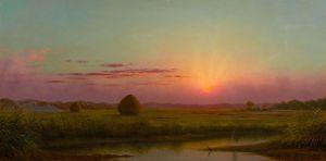 Хед Мартин Джонсон Закат солнца