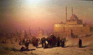 Бриджман Фредерик Артур На пути между Старым и Новым Каиром
