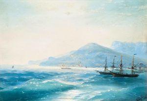 Айвазовский Иван Корабли недалеко от побережья