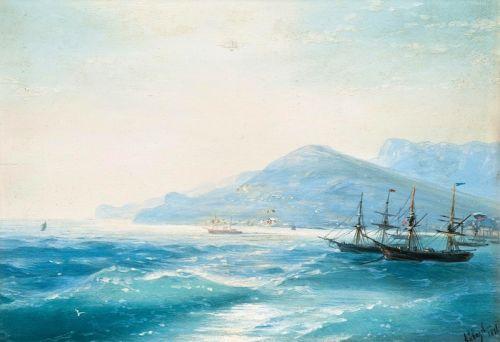 Корабли недалеко от побережья