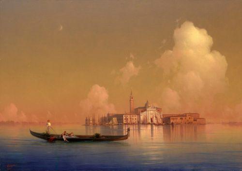 Вид Венеции, Сан-Джорджо Маджоре
