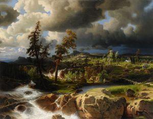 Ларсон Маркус Симеон Норвежский пейзаж
