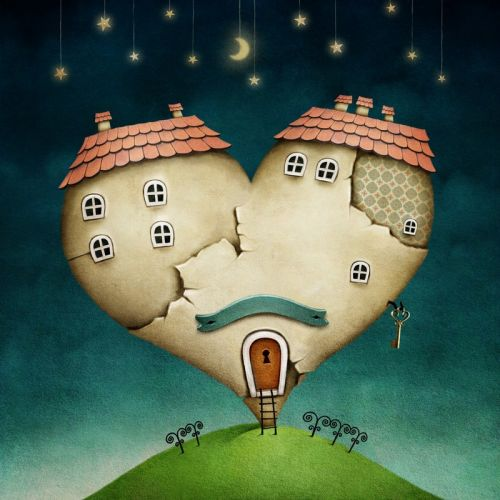 Сердце-домик